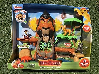 Disney Junior's The Rise of Scar Lion Guard Playset With Kion & Janja NEW