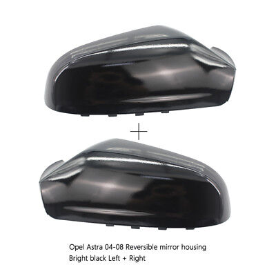 Vauxhall Astra H MK5 Car SUV Left & Right Wing Mirror Cover Cap Casing 2004-2009