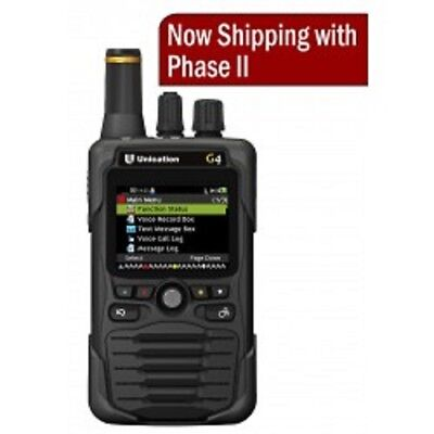 UNICATION G4 P25 Voice Pager--700/800 MHz (Pick Your Options)