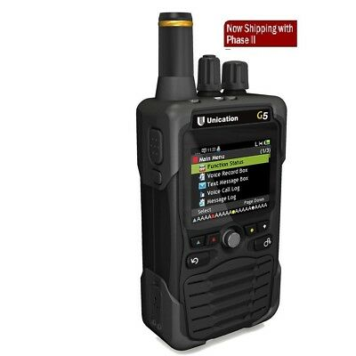 UNICATION G5 P25 Voice Pager-- VHF UHF 700/800 MHz (Pick Your Options)