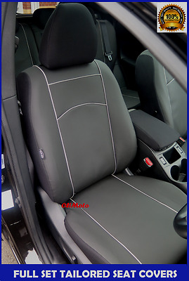 Eco-Leather Tailored Full Set Seat Covers for NISSAN Navara D40 2005-2014
