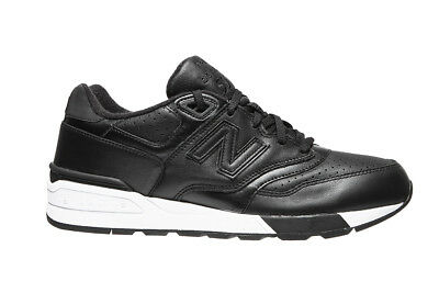 release date: 8a333 ca7ae NEW BALANCE MEN'S 597 Shoes NEW AUTHENTIC Black/White ML597BLL