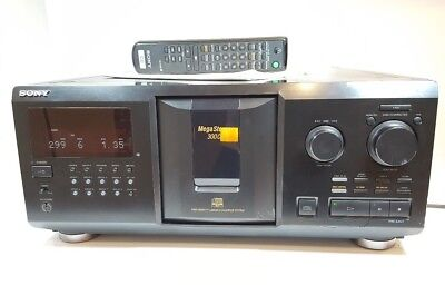 sony cdp cx355 300 disc cd mega changer jukebox with manual remote rh picclick co uk Repair Sony CDP CX355 sony cdp cx355 repair manual
