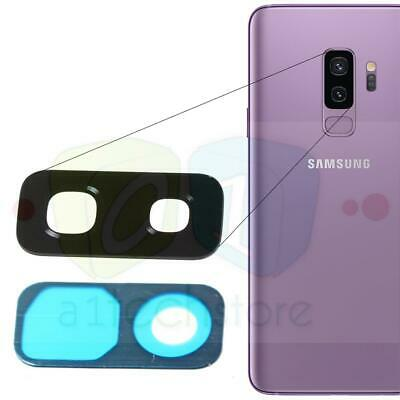 GENUINE New Samsung Galaxy S9 Plus Rear Camera GLASS Lens Replacement part