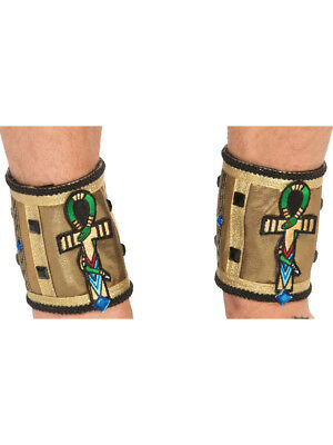 Adults Mens Deluxe Egyptian Pharoah Ankle Bands Costume Accessory