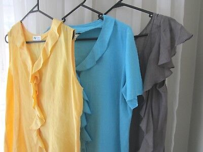 3 Ladies Tops - Size 12 Perfect for everyday wear