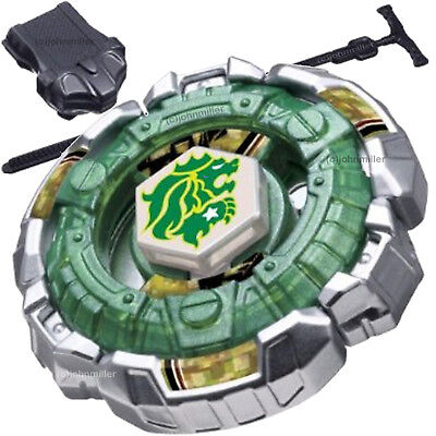 Fang Leone Metal Fury 4D Beyblade STARTER SET w/ Launcher & Ripcord - USA SELLER