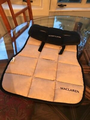 Maclaren Universal Seat Liner & Cold Weather Seat Pouch Reversible NEW 2 Pieces!