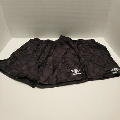 Umbro Extra Small XS Youth Black Soccer Shorts For Girls Or Boys (2 Pair)