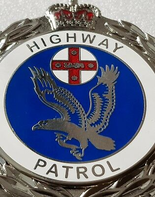 NSW Badge Police Highway Patrol