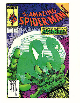 The Amazing Spider-Man #311 (1989, Marvel) NM- Todd McFarlane Art Mysterio App