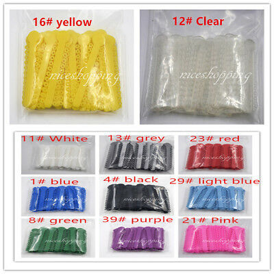 1008Pcs Dental Orthodontic Ligature Ties Elastic Rubber Bands 11Color For Choose