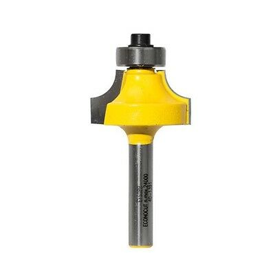 """Econocut TCT ROUNDING OVER ROUTER BIT 1/4"""" Shank- 6.35mm, 7.9mm, 9.5mm Or 12.7mm"""