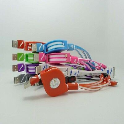 Mobile Multi-Function USB Phone Multi Cord Charger Charging Cell Cable