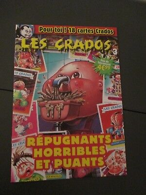 Magazine LES CRADOS numero 4 neuf new 18 cartes cards