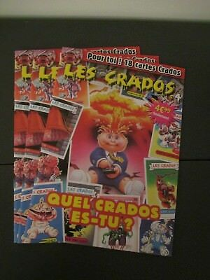 Magazine LES CRADOS numero 5 neuf new 18 cartes cards