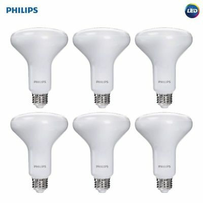 6pcs Br30 Led Dimmable Light Bulb Soft White Warm Glow Light
