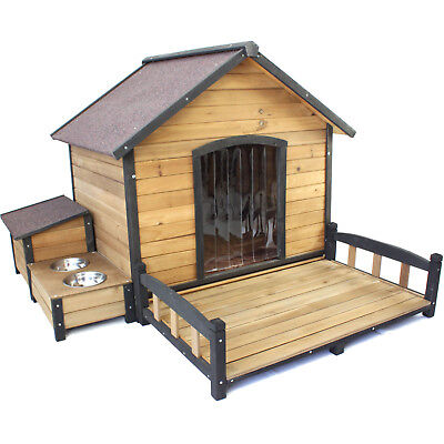XL Dog House Kennel Extra Large Wooden Pet Puppy Labrador Retriever Kelpie Home