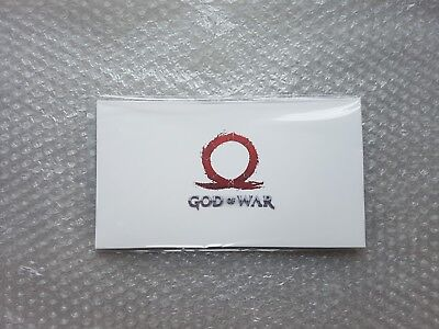 EXCLUSIVE LITHOGRAPH from God Of War 2018 PS4 Collector's Edition (NEW & SEALED)