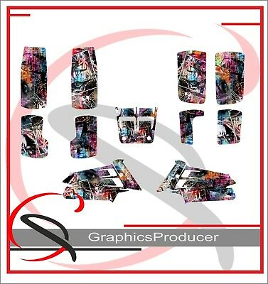 Yamaha Banshee 350 Graphics Full Decals Set Custom Design Gangsta Girl Theme