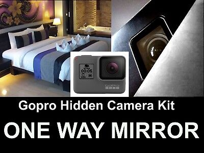 GOPRO 6 Hidden Camera Kit,Turn Your Gopro Into a Spy Camera One / Two Way Mirror