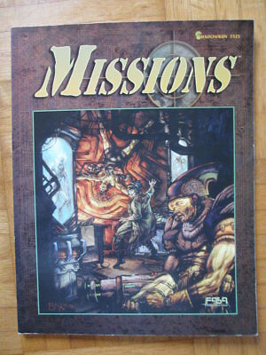 SHADOWRUN MISSIONS 2. Second Edition 1996 #7325 English – fasa fanpro Rollenspie