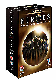 Heroes - Series 1-3 - Complete (DVD, 2009, 17-Disc Set, Box-set) New And Sealed