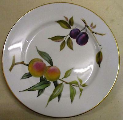 """Royal Worcester Evesham gold rim 10"""" dinner lunch plate, 18 available"""