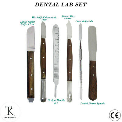 Dental Laboratory instruments Wax knife Fahnenstock Plaster Spatula Knife Carver