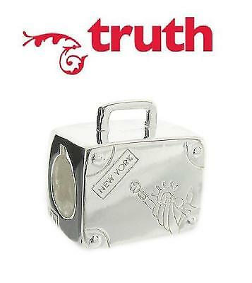 a537d847cfed GENUINE TRUTH PK 925 sterling silver SUITCASE charm bead, travel ...