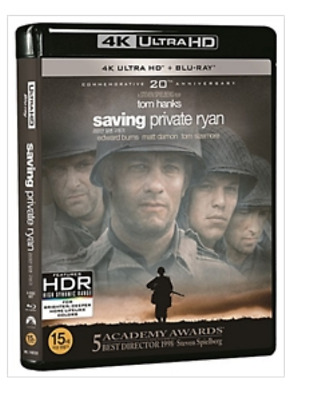 """ SAVING PRIVATE RYAN ""  Blu-ray  4K (BD+4K UHD+BONUS DISC)"