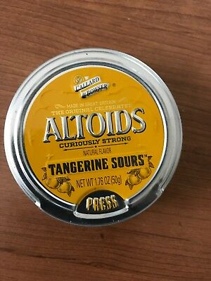 altoids sours 1 sealed tin curiously strong mango discontinued