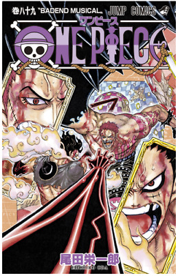 ONE PIECE Volume 89 Japanese Manga Comix anime onepiece Japan import F/S