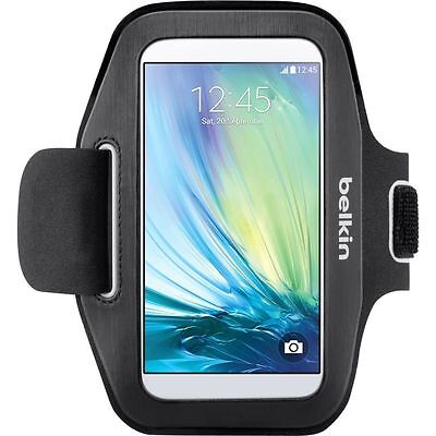 Belkin Sport-Fit Armband Screen Protection SAMSUNG Galaxy S5/S6/S6 Edge Black