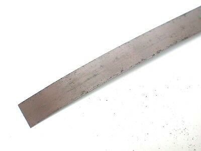 "Steel Strip Feeler 0.010"" x ½"" x 600mm Shim Imperial (coiled) UK see details"