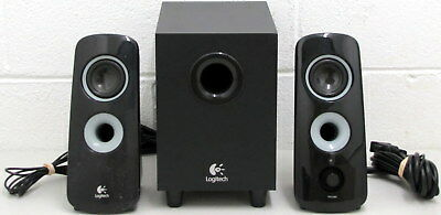 Logitech Multimedia Speakers PC Computer Subwoofer 2.1 System Surround Black