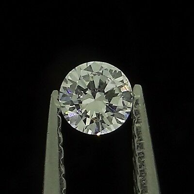 round brilliant natural diamond F SI1 0.06ct Genuine Loose Diamonds NR