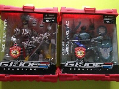 G.I.JOE COMMANDO- 2 Actionfiguren in OVP - SELTEN