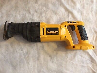 Dewalt 18v XRP DC380 Reciprocating Saw