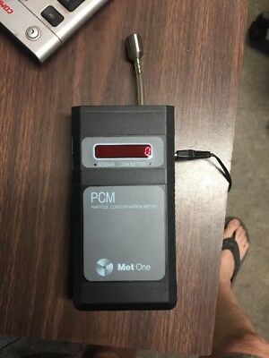 Met One Portable Laser Airborne Particle Counter 228 Concentration Meter