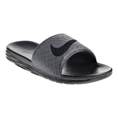 Nike Benassi Solarsoft Men's Sandals Grey/Black 705474-090