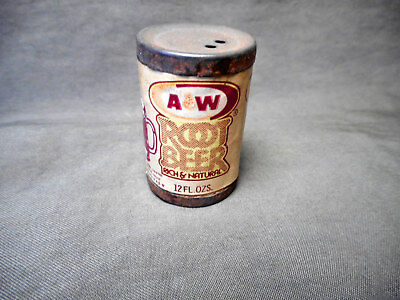 Vintage Miniature A&W Root Beer Can 1.5""
