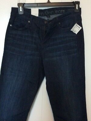 Calvin Klein Jeans Ladies' Ultimate Skinny Jean, Blue, Size 14x32, NWT
