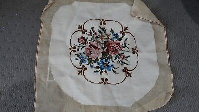 Vintage Rose/Floral Tapestry for Chair/Footstool Upholstery