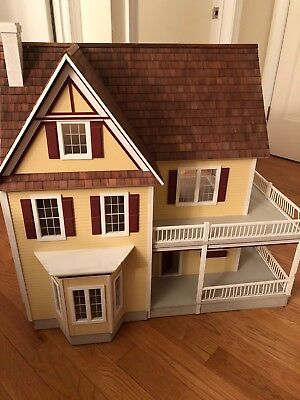 Real Good Toys Finished Victoria S Farmhouse Dollhouse Excellent