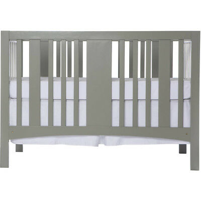 Dream On Me Havana 5-in-1 Convertible Crib Gray and White