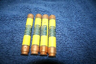 Bussman Low-Peak Dual-Element Time-Delay Fuse LPS-RK-3.5SP Lot (4) 600VAC 300VDC