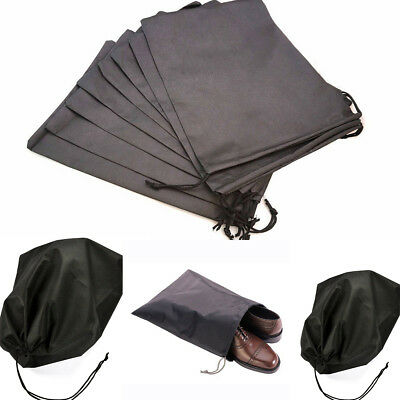 2PCS Environmental Shoes Travel Pouch Storage Portable Tote Drawstring Dust Bag