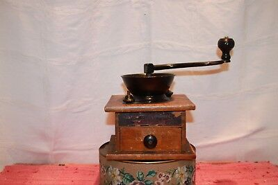 ANTIQUE 1900-09 Parker's Eagle Coffee Mill No. 314, VERY GOOD ANTIQUE CONDITION