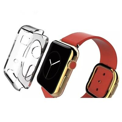 Boitier Coque pour Apple Watch 42mm Transparent Crystal TPU Case  Wewoo